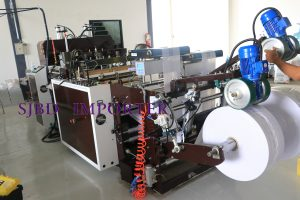 HIGH SPEED HOSE BAG CUTTING MACHINE MODEL H8GN-450X2